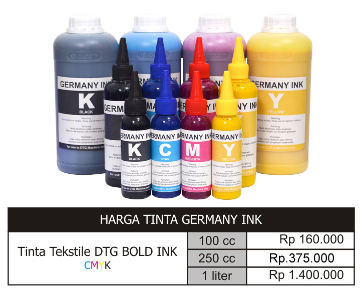 tinta dtg made in jerman