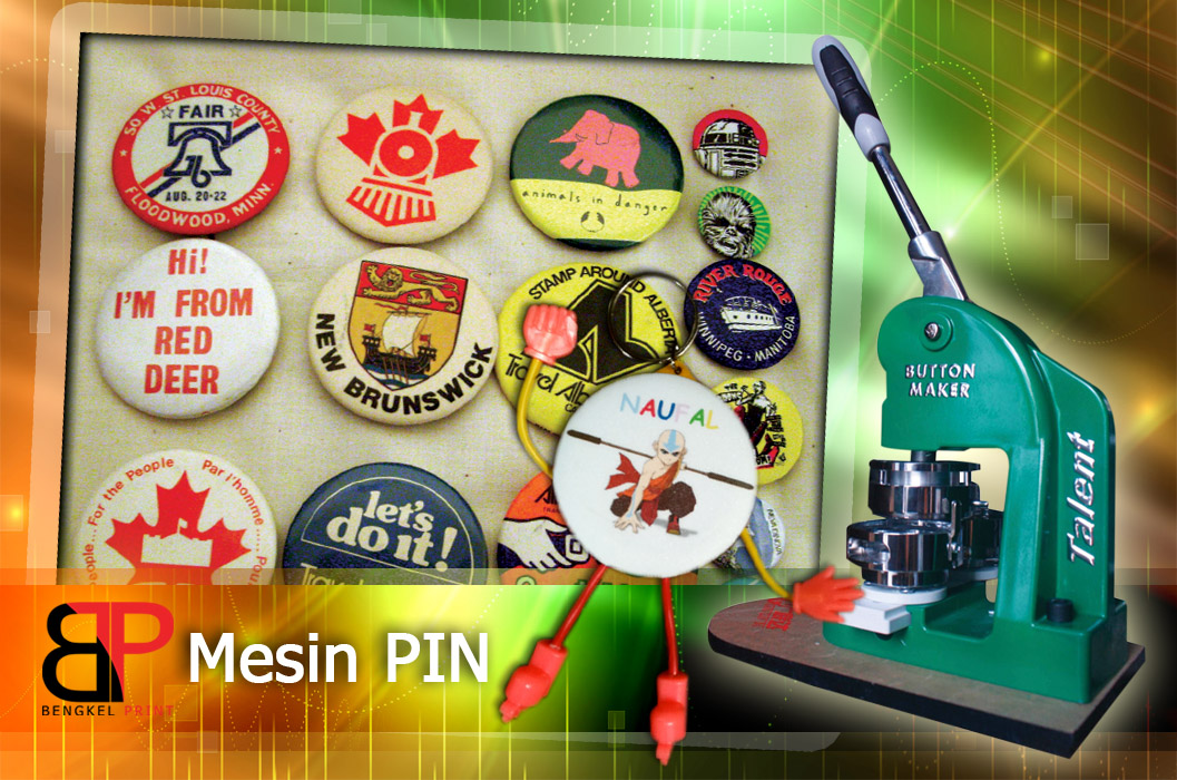mesin press pin