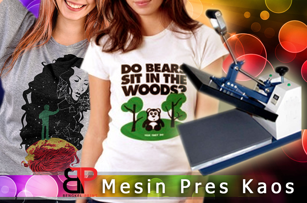 mesin press kaos