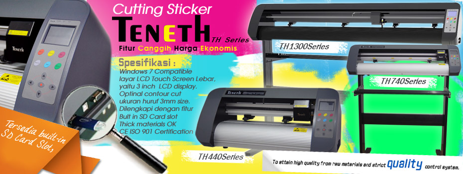 cutting sticker Teneth