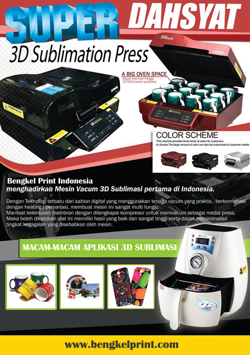 mesin 3d sublimasi