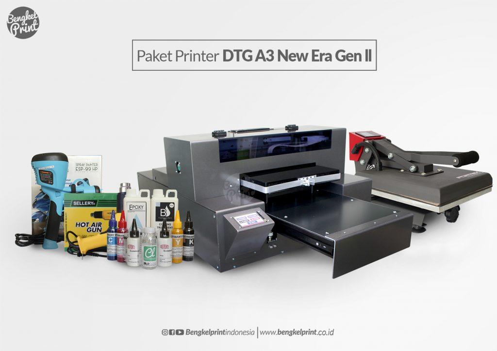 Printer DTG RIECAT A3 Made Indonesia EXPOR Ke Malaysia