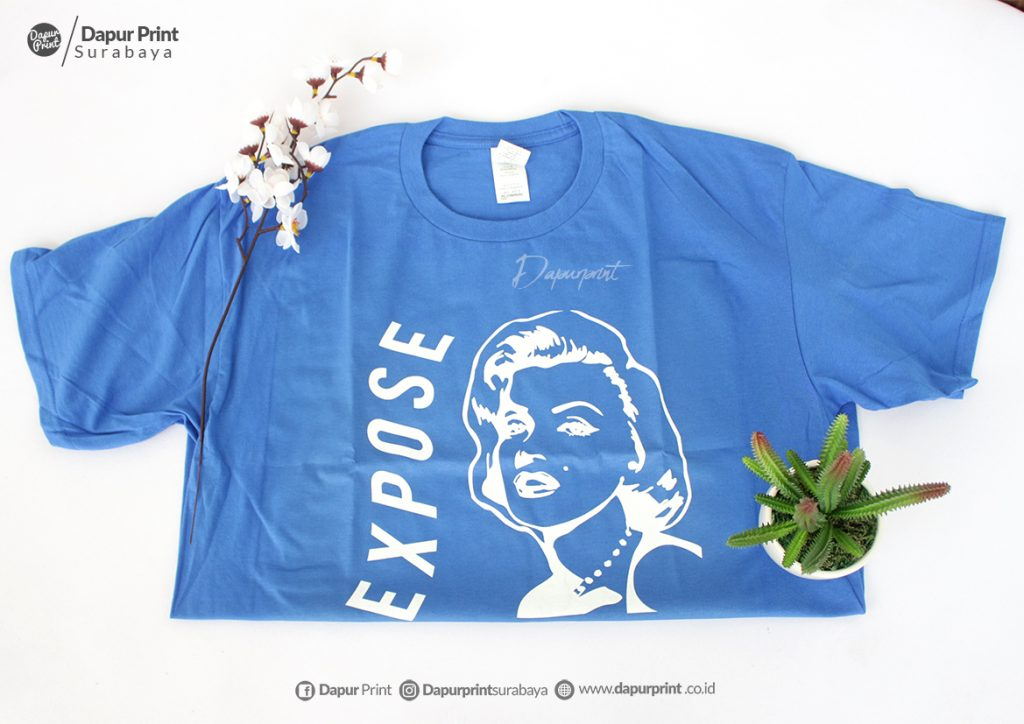Sablon Kaos Polyflex Cocok Untuk Usaha Rumahan