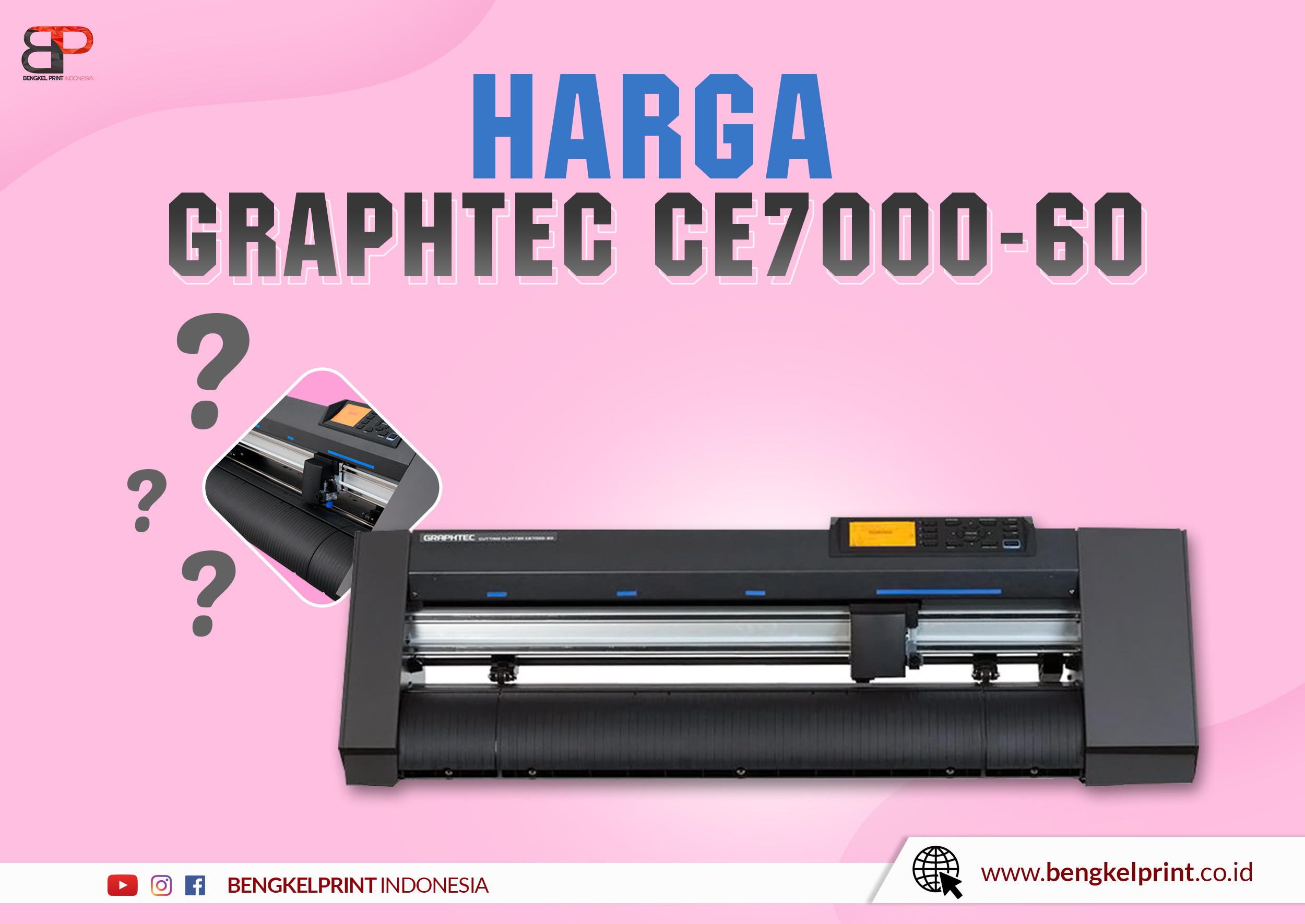 Mesin Plotter Graphtec CE7000 60