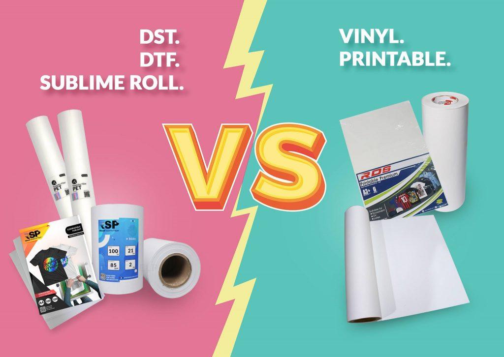 perbedaan bahan printer alfa vs rdp mini ecosolvent