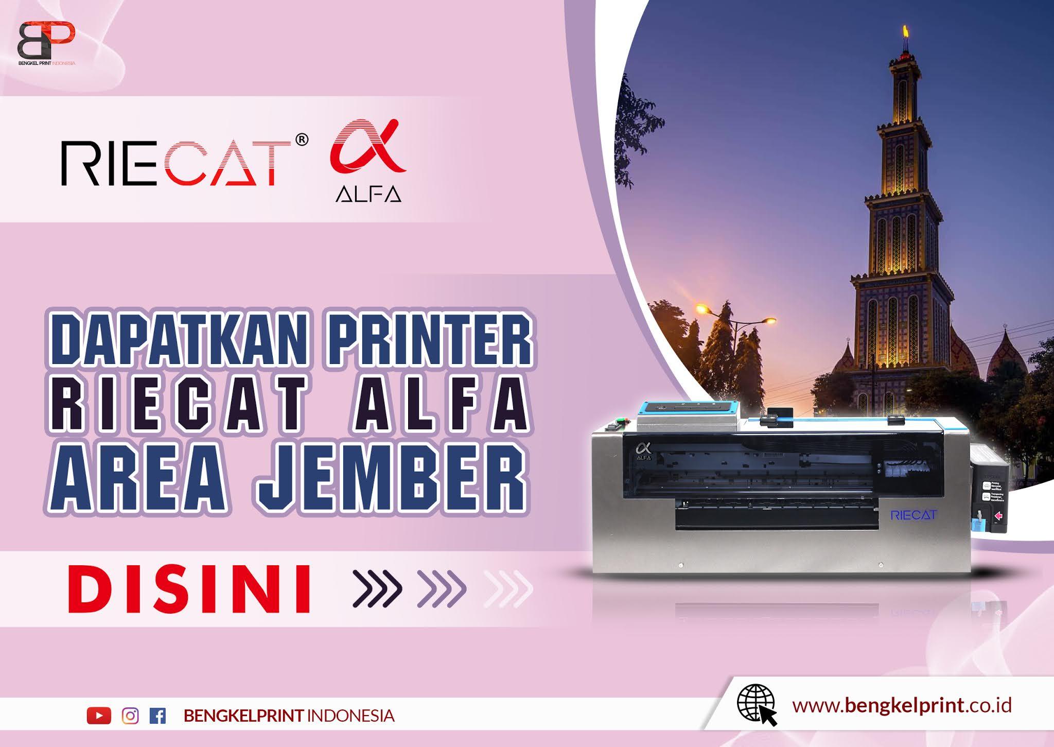 Paket Printer RIECAT ALFA Jember