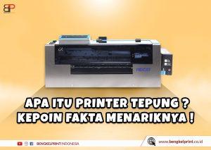 Mesin Printer Sablon Tepung