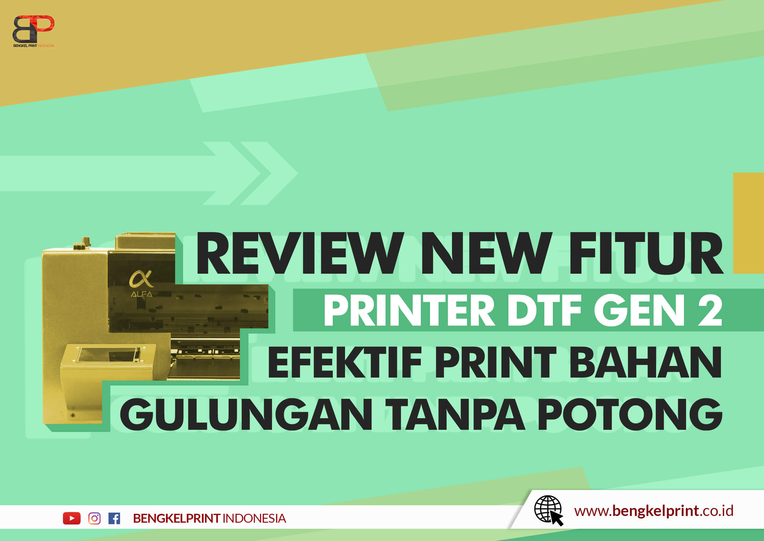 Mesin Printer Riecat Alfa Generasi 2