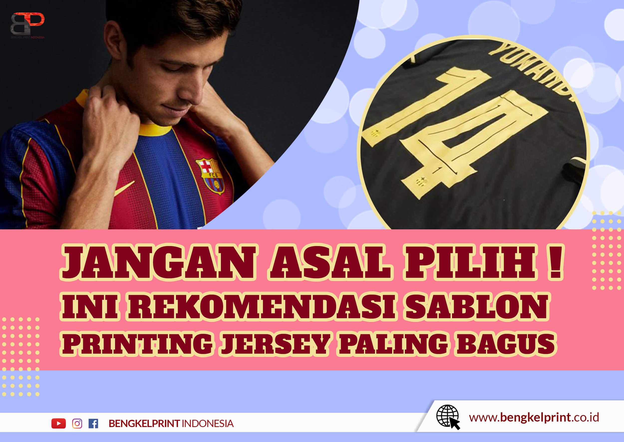 Jenis Bahan Jersey Printing
