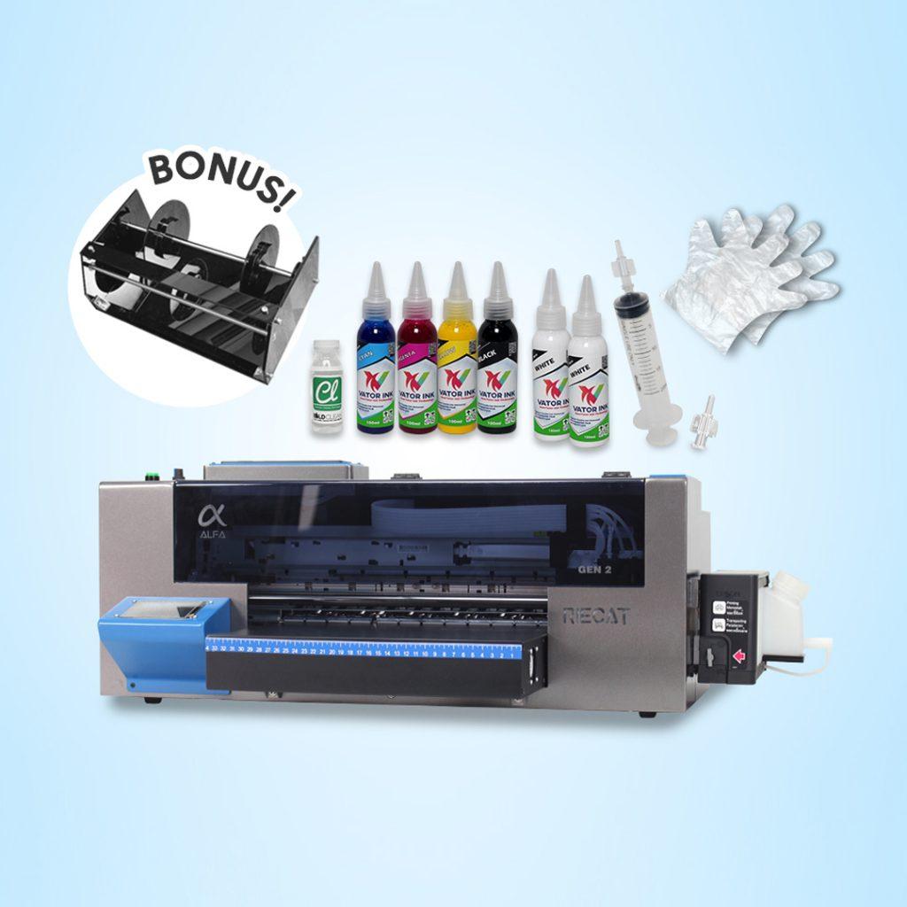 Printer Riecat Alfa Gratis Paper Roll Holder